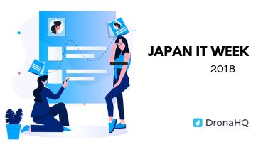 Japan IT week dronahq