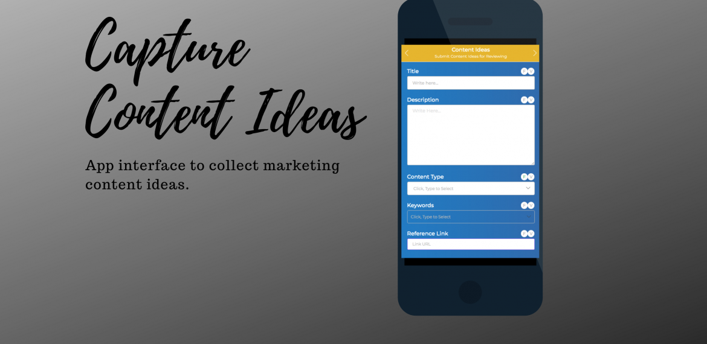 Marketing Content Calendar App