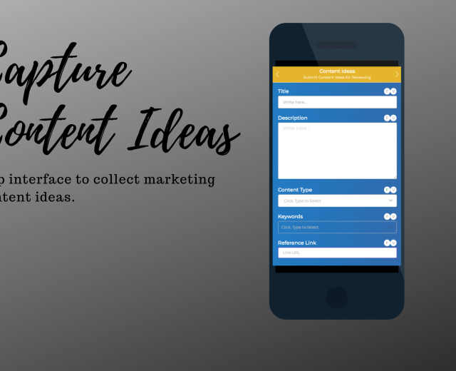Marketing Content Calendar App