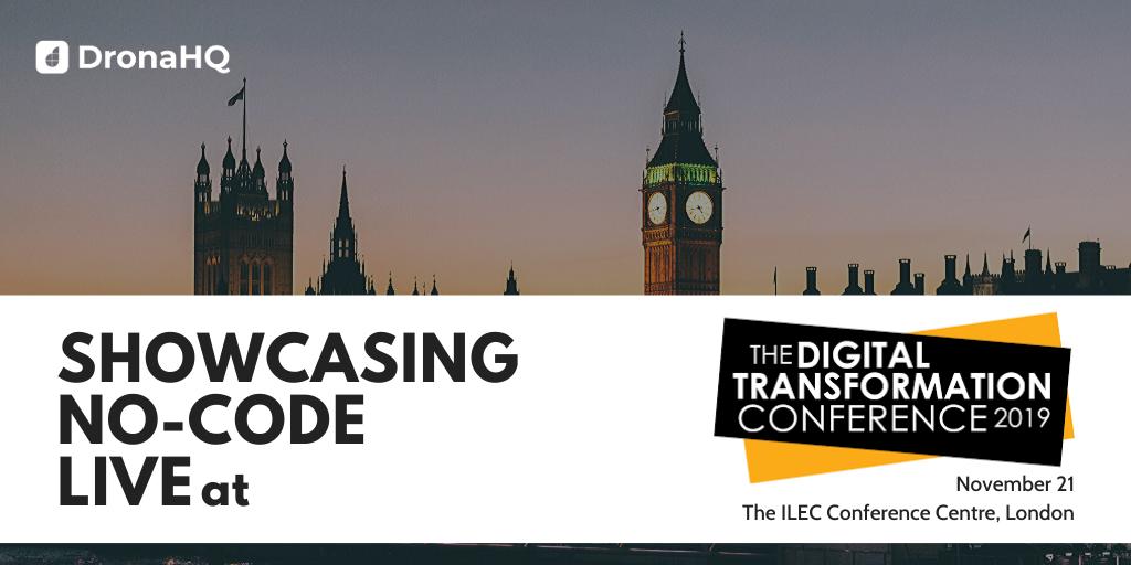 the digital transformation conference November 21, 2019