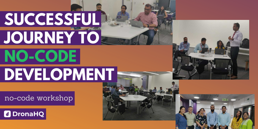 Successful no-code workshop conducted