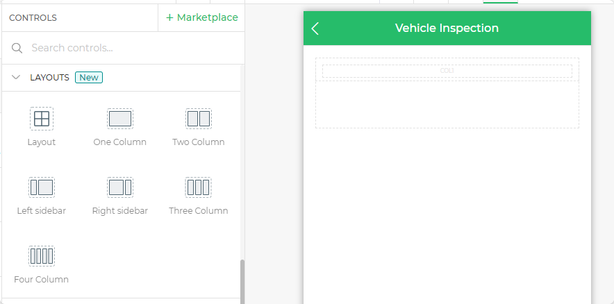 Layouts to make your checklist responsive