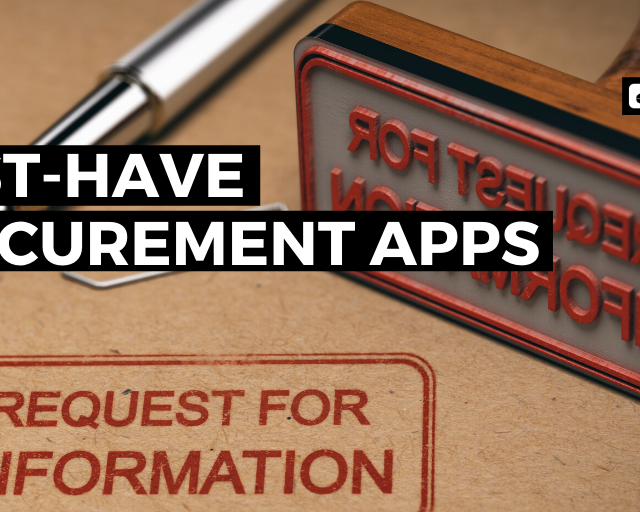procurement apps