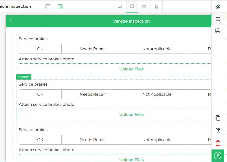 duplicate form fields