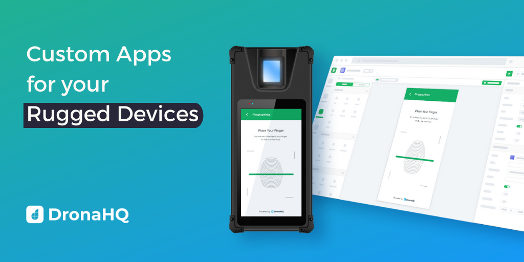 create custom apps for rugged device