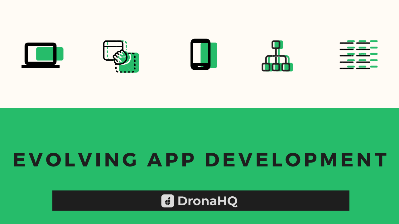 evolving app dev with drag and drop tools
