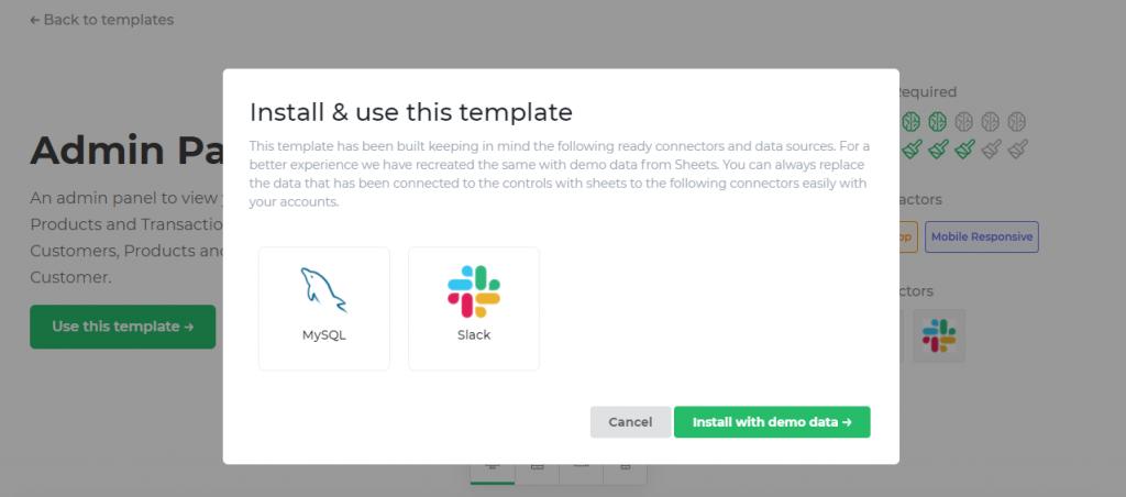 install ready templates