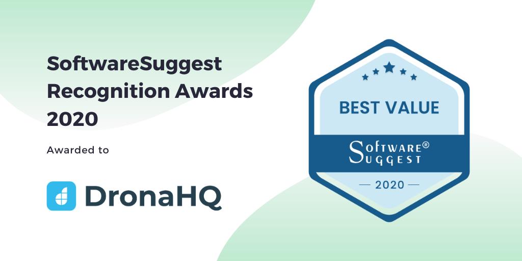 DronaHQ-SoftwareSuggest-2020-Award-Best Value