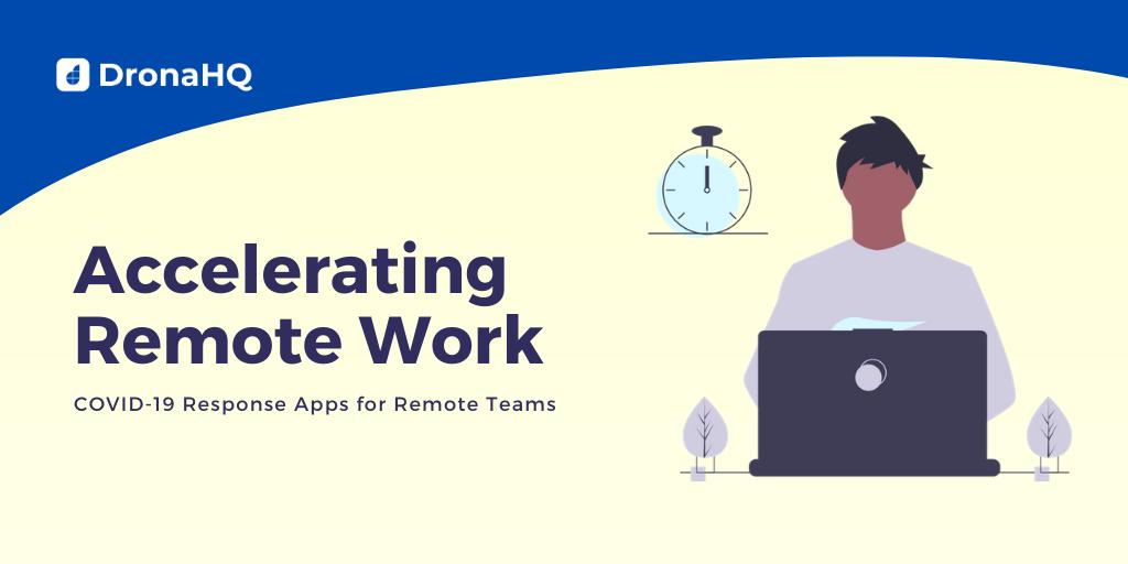 covid response app remote work