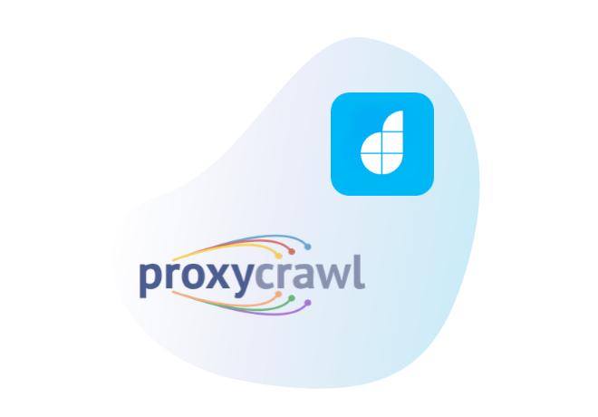 Connect Proxy Crawl to scrape Internet data