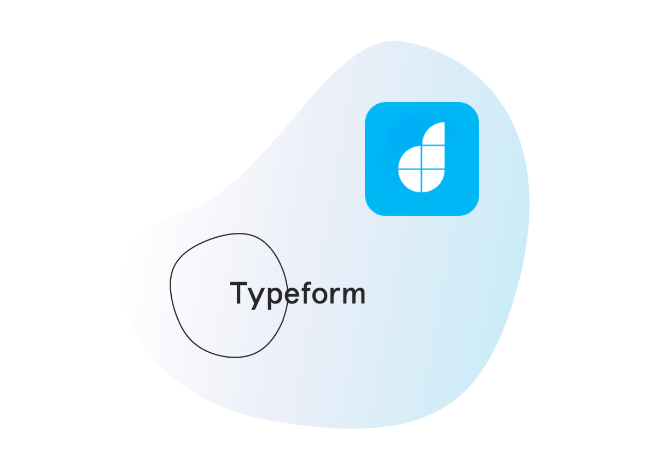 Connect Typeform with your<br /> low code apps