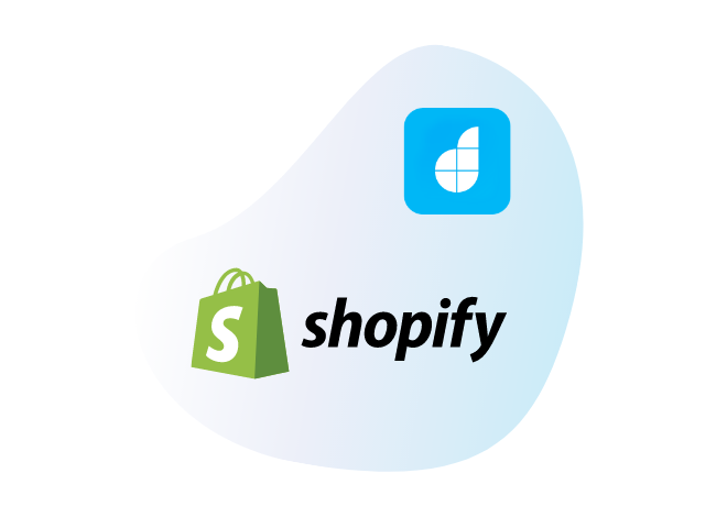 Connect Shopify with<br /> your low-code apps