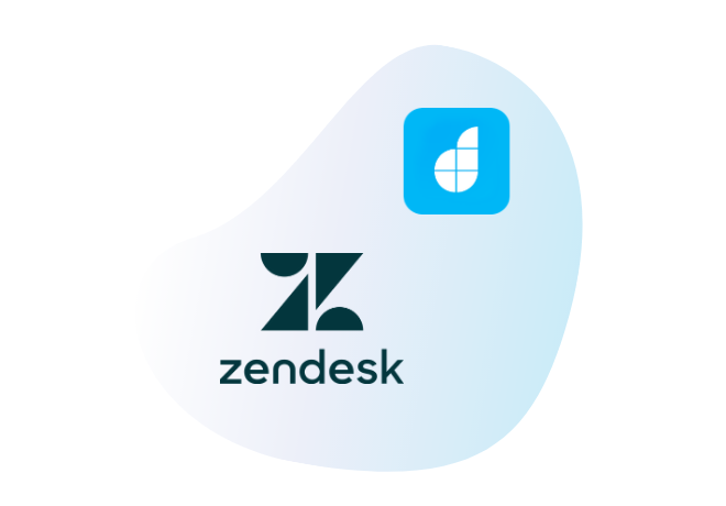 Connect Zendesk with your<br /> low code apps