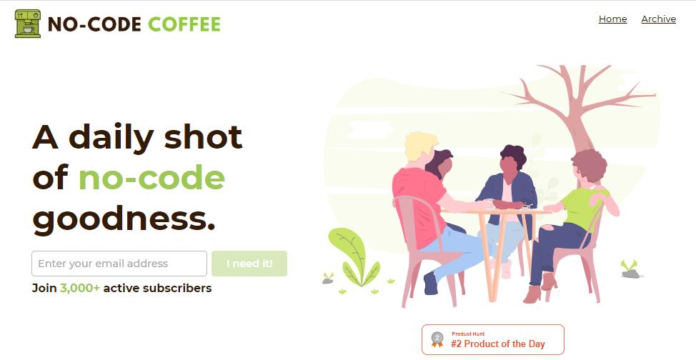 NoCode Coffee