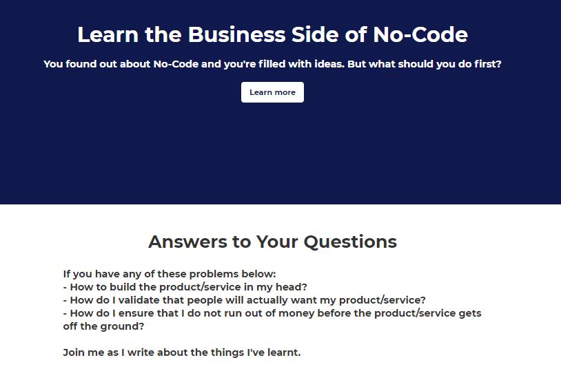 No-Coders Club