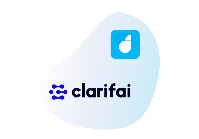 Integrate Clarifai with your<br /> low code apps