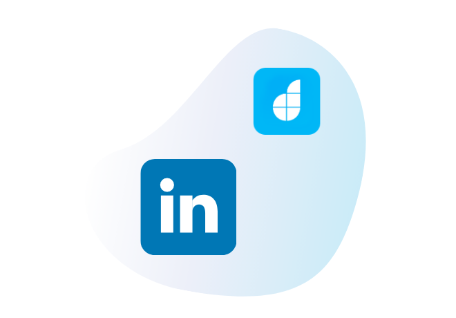 Connect LinkedIn with your<br /> low code apps