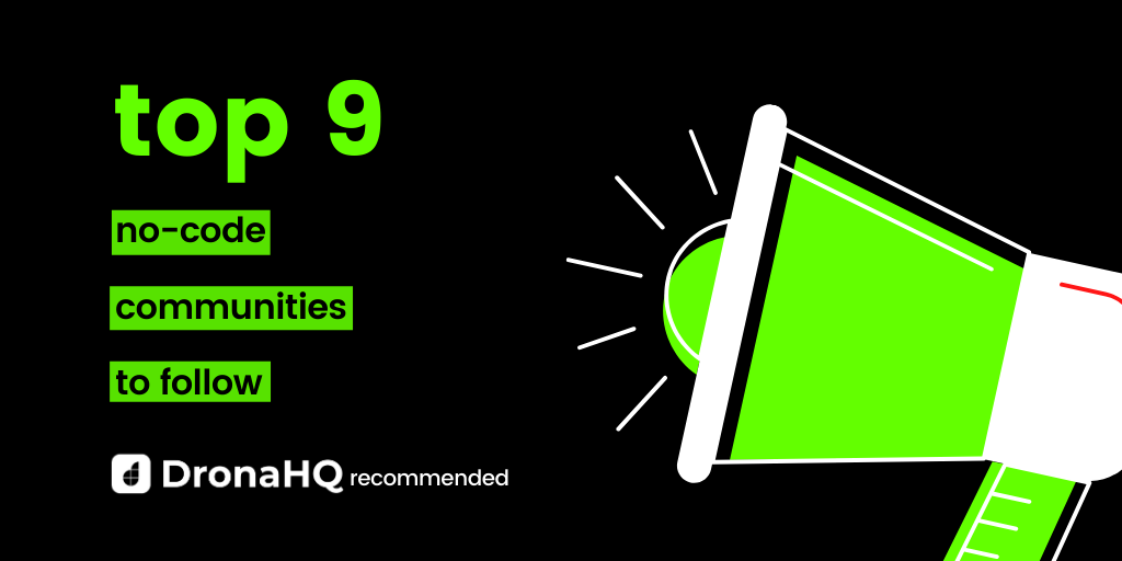 nocode communities to follow dhq recommends