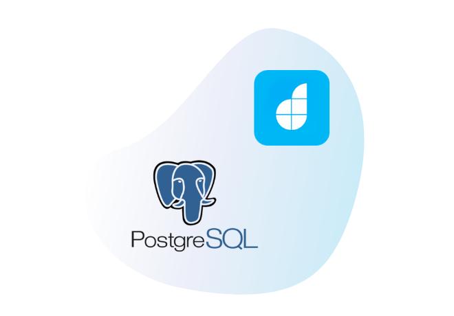 PostgreSQL + DronaHQ