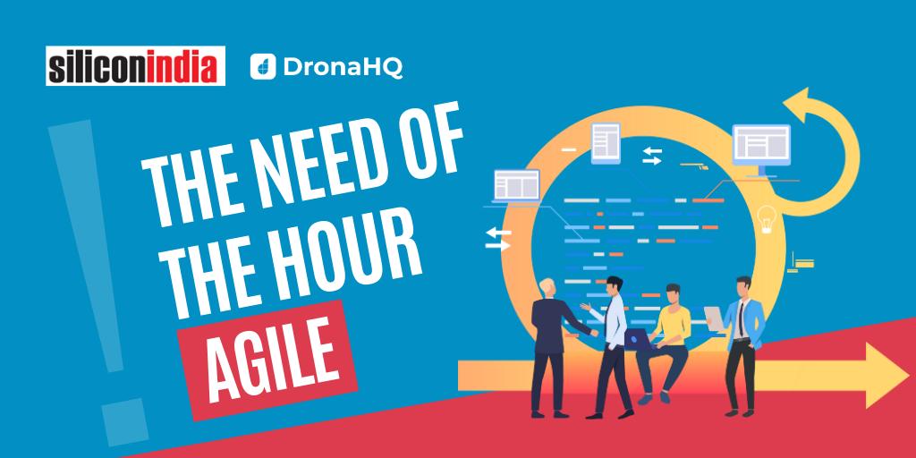 agile delivery silicon india dronahq