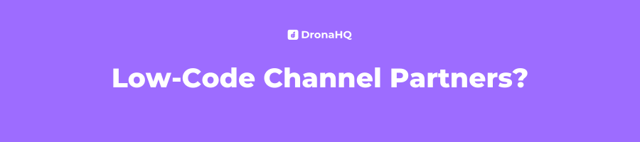Low-Code Channel Partners