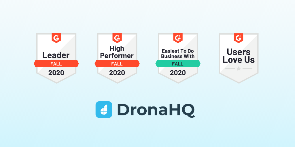 DronaHQ Ranks as Leader in G2's Fall Grid Report 2020