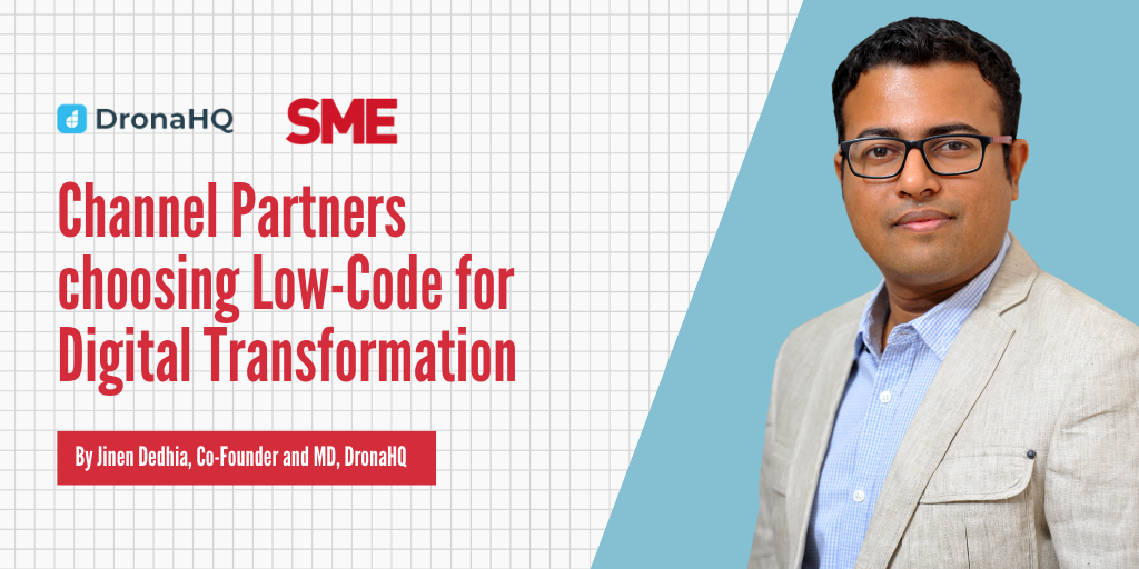 Channel Partners choosing Low-Code for Digital Transformation