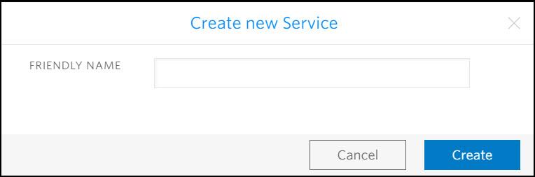 Create New Verify Service