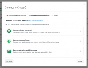 MongoDB API Configuration