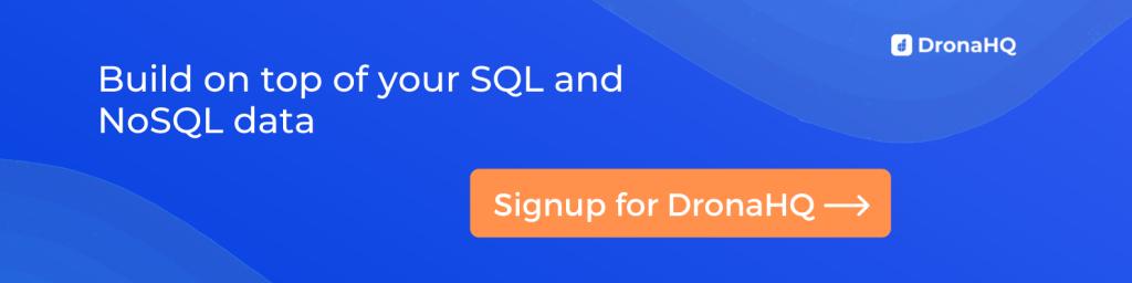 SQL NoSQL Frontend